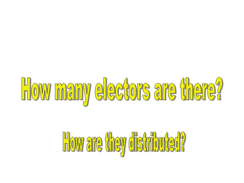How many electors are there