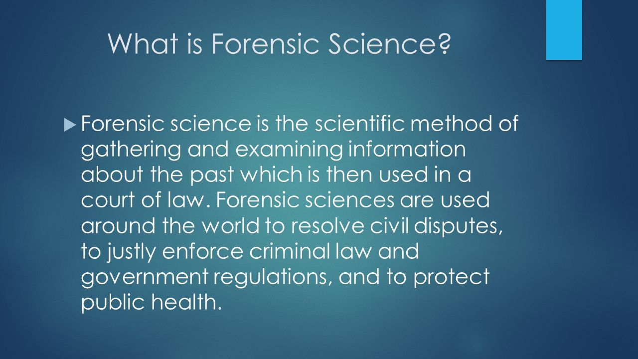 forensic science methods of measuring lies and innocence It is the responsibility of the forensic investigator to determine innocence or for each of the early forensic science methods the value of class lies in.
