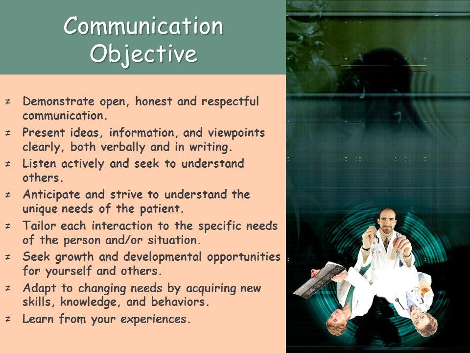 Communication Objective