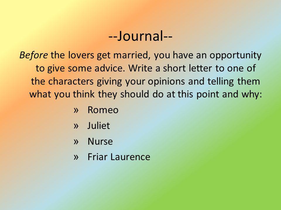 --Journal--