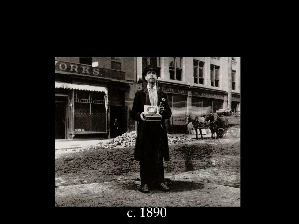 Jacob Riis Blind Beggar c. 1890