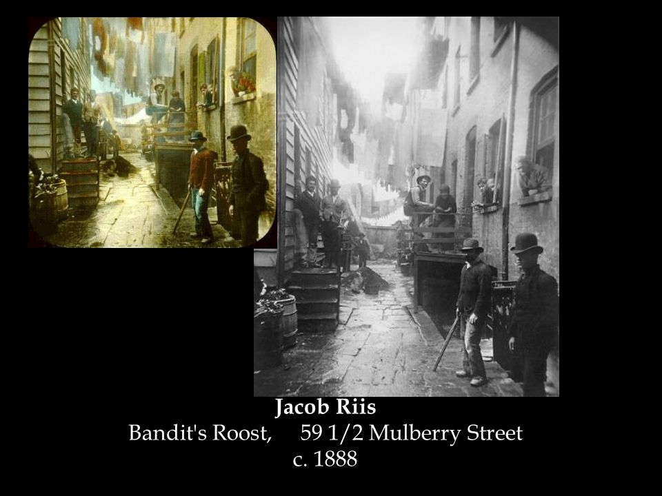 Jacob Riis Bandit s Roost, 59 1/2 Mulberry Street c. 1888