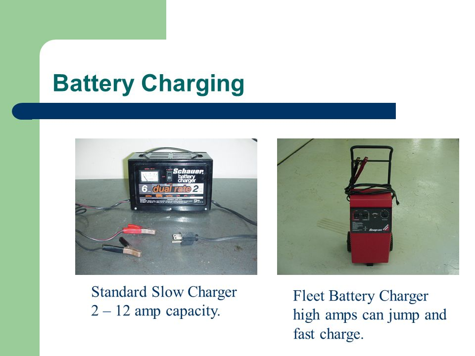 Slow Charging Dead Car Battery At  Amps