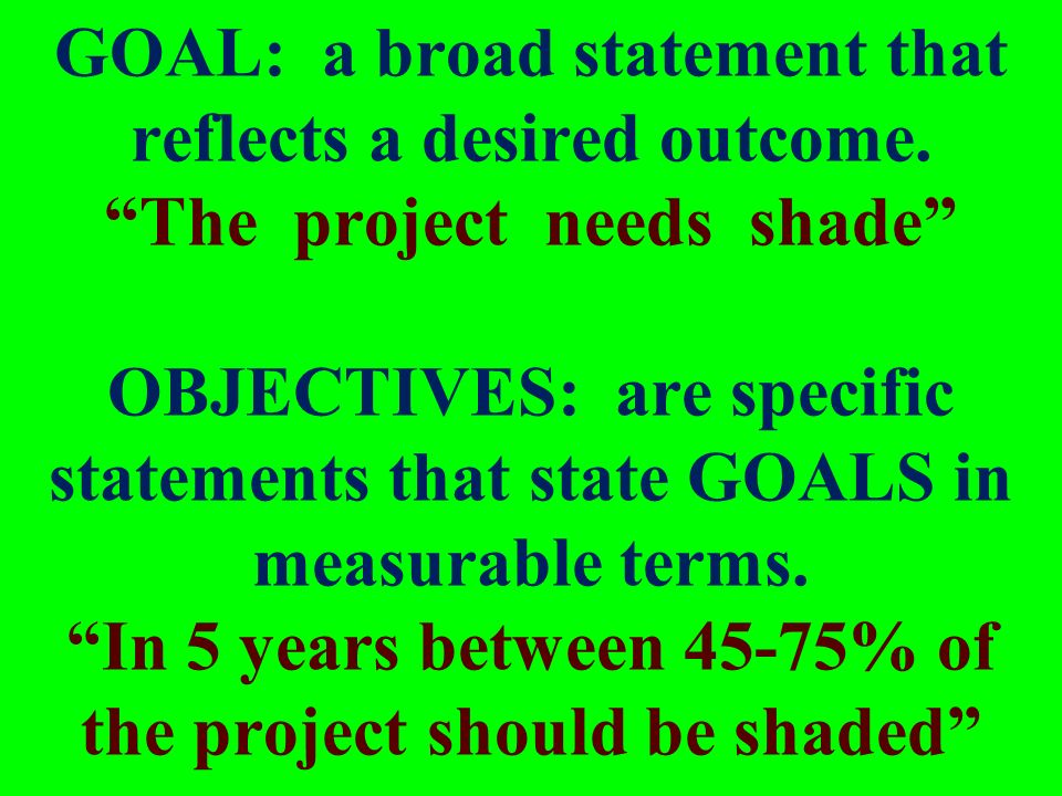 significant learning goals ppt download