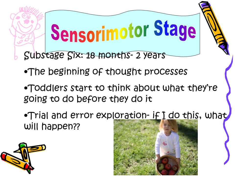 Sensorimotor Stage Substage Six: 18 months- 2 years