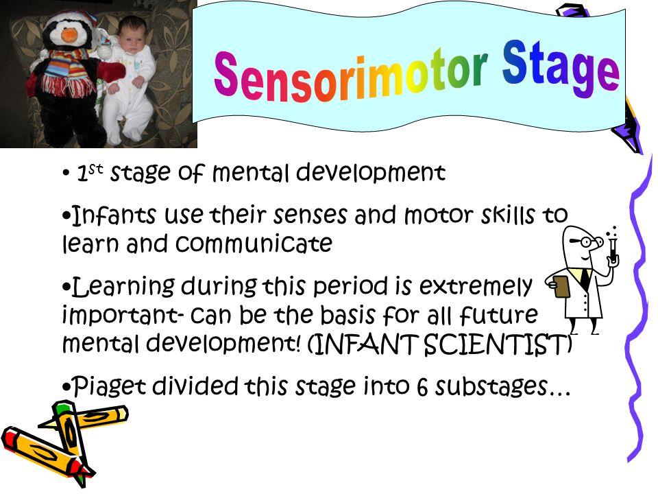 Sensorimotor Stage 1st stage of mental development