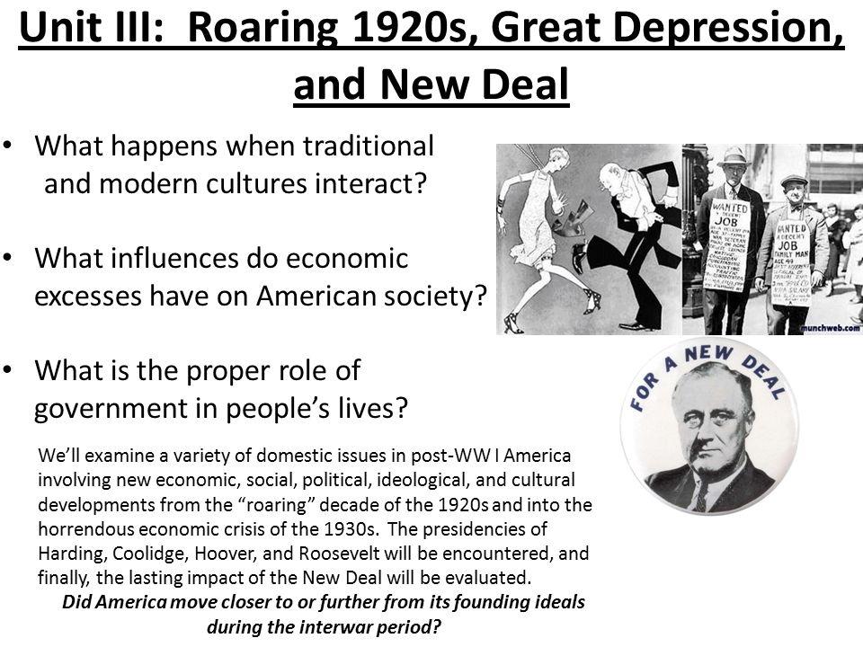 New deal great society essay