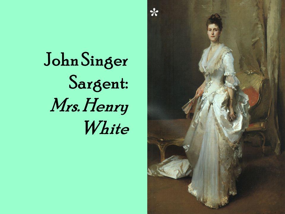 John Singer Sargent: Mrs. Henry White