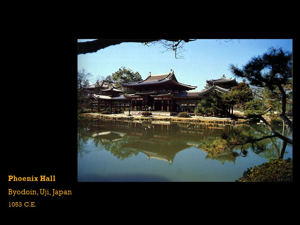 Phoenix Hall Byodoin, Uji, Japan 1053 C.E.