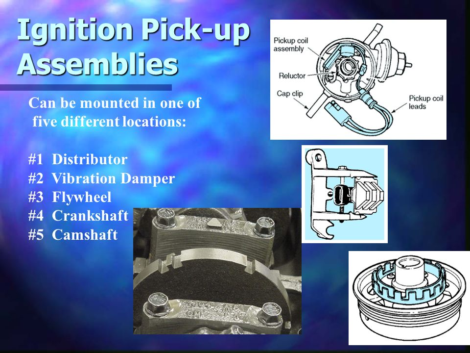 Ignition Pick-up Assemblies