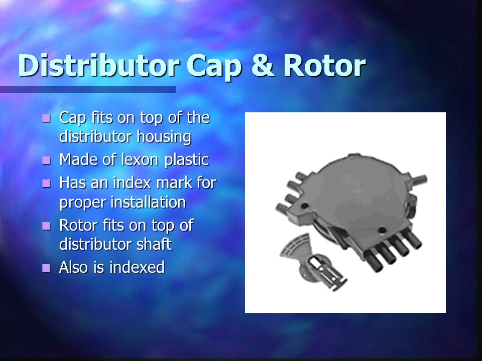 Distributor Cap & Rotor