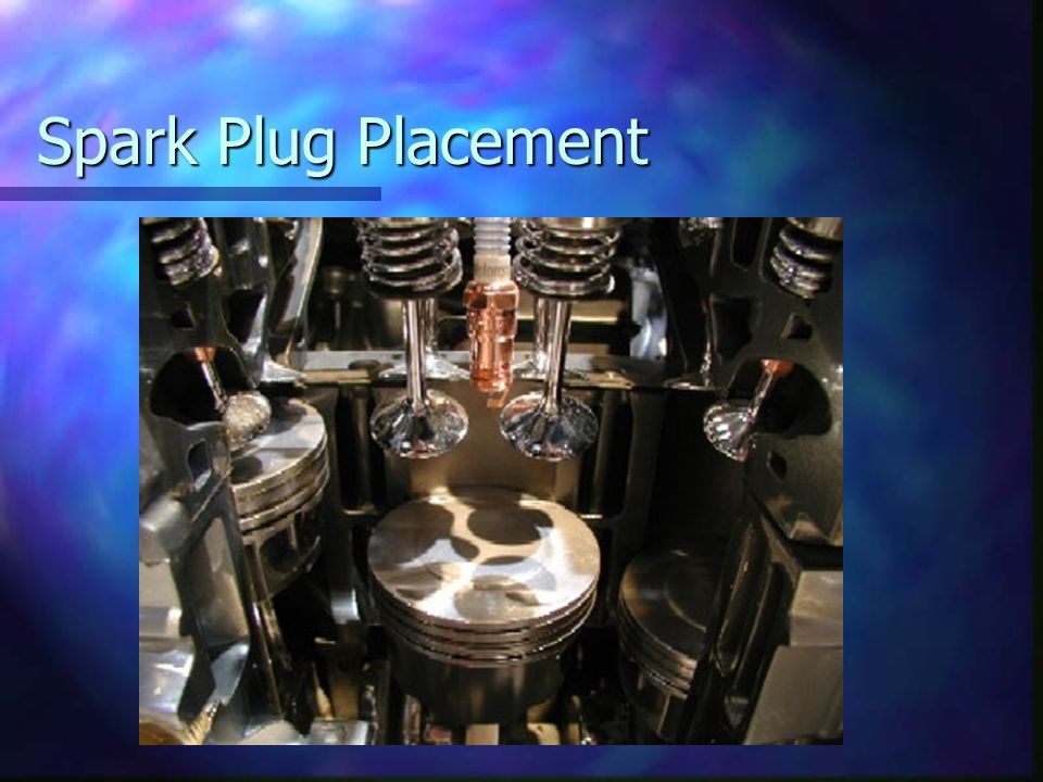 Spark Plug Placement