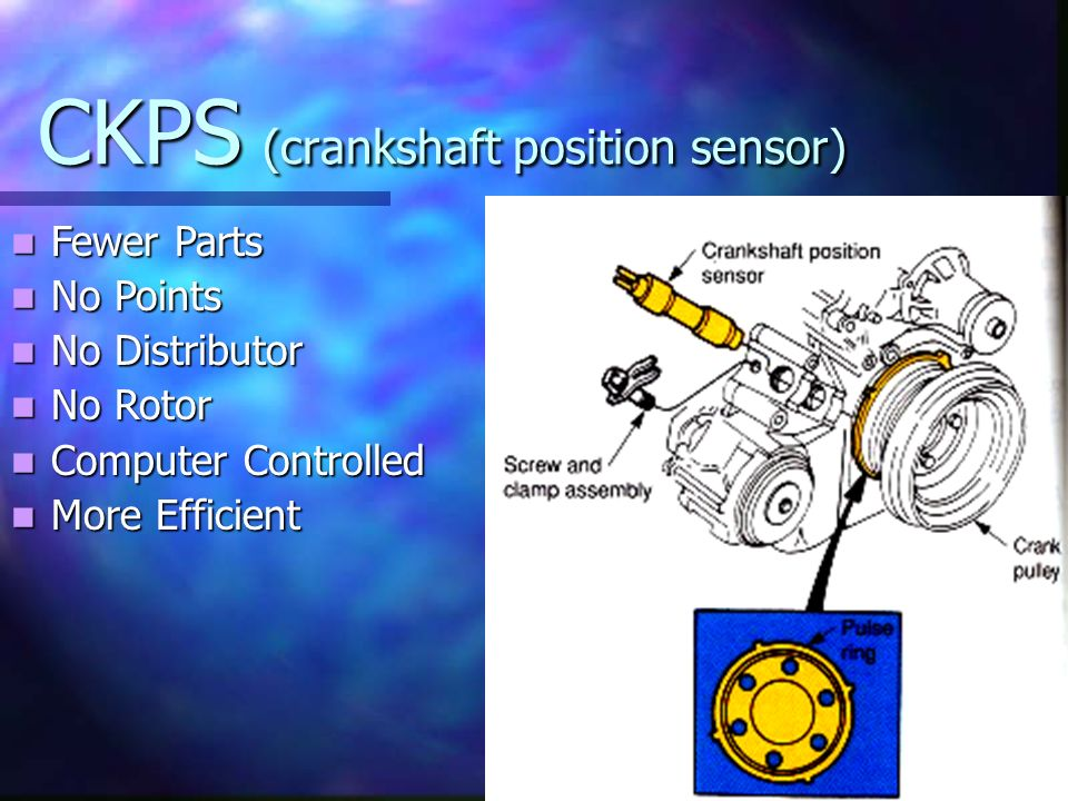CKPS (crankshaft position sensor)