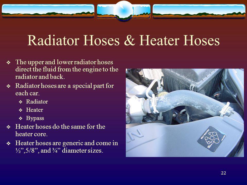 Radiator Hoses & Heater Hoses