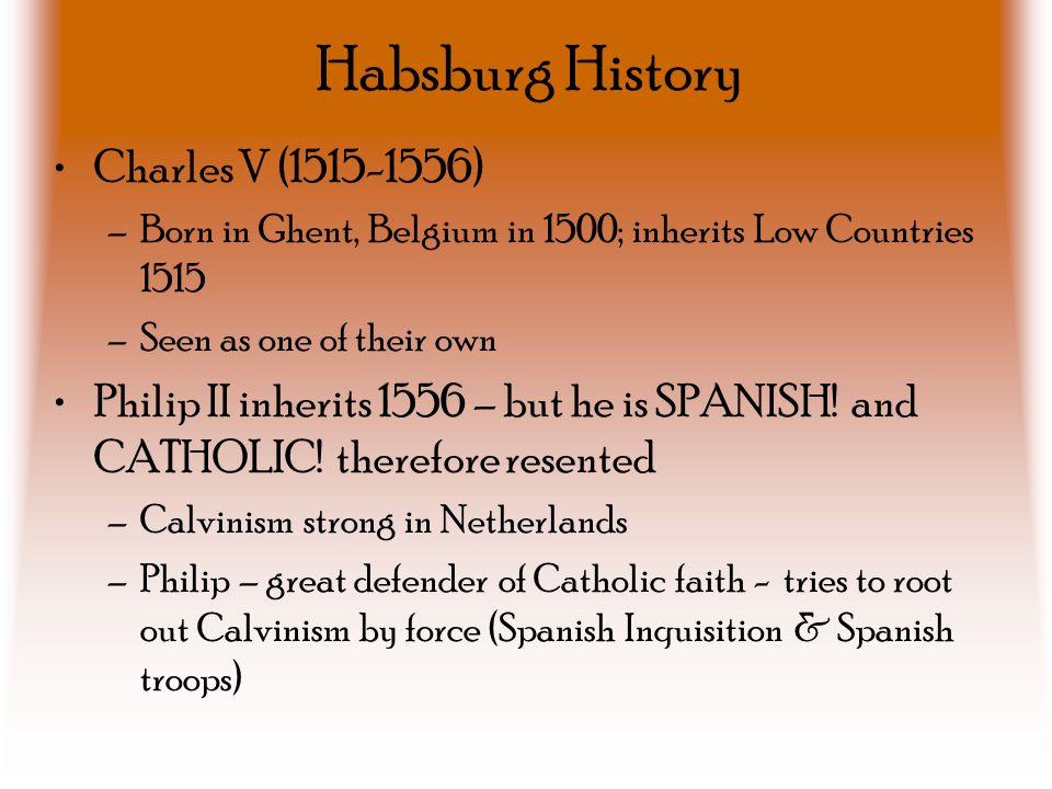 Habsburg History Charles V (1515-1556)
