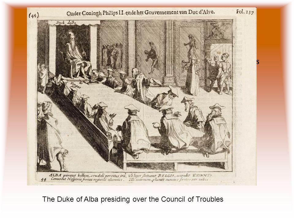 Duke of Alba Fernando Álvarez de Toledo, duke of Alba, who was appointed captain-general of the Netherlands.