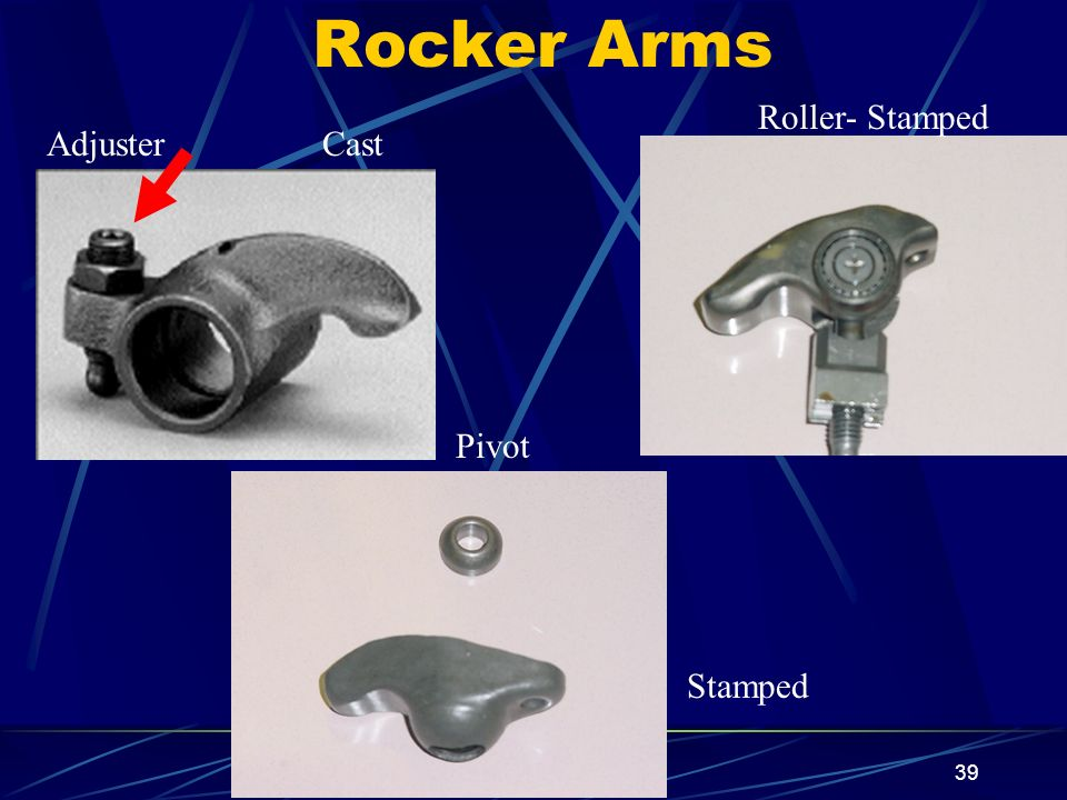 Rocker Arms Roller- Stamped Adjuster Cast Pivot Stamped