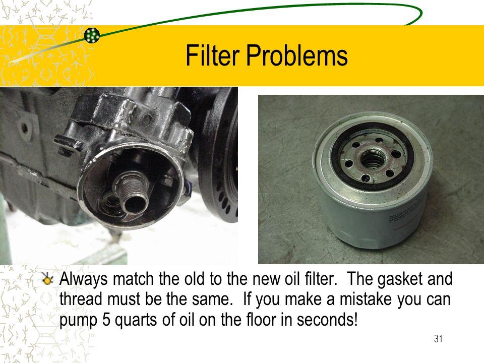Filter Problems
