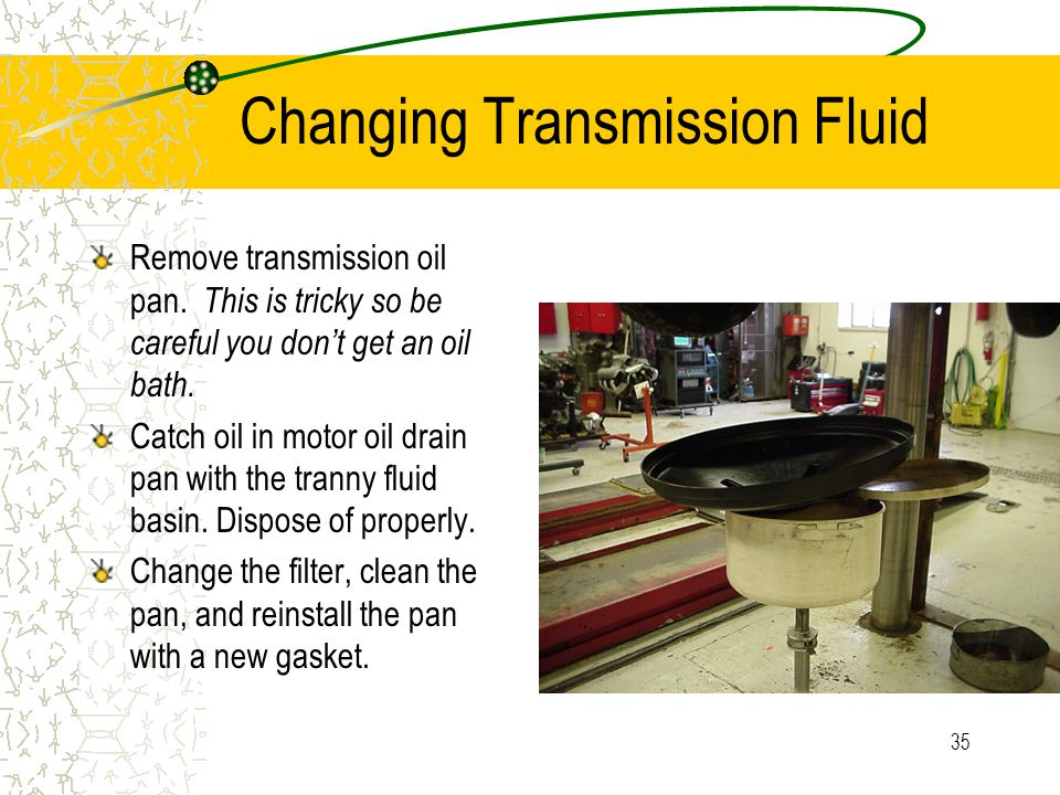 Changing Transmission Fluid