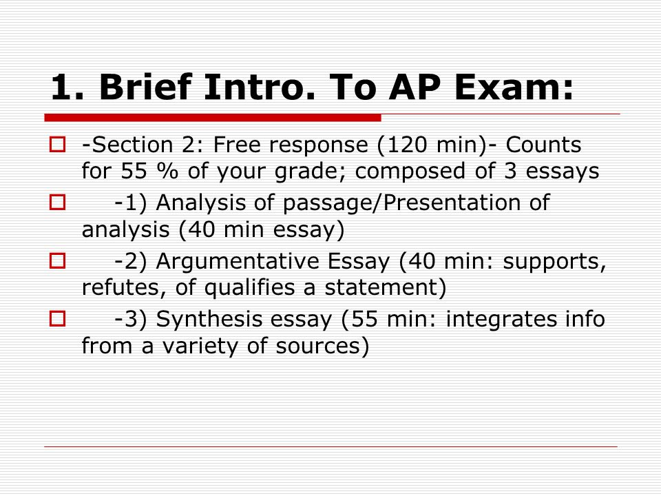 getting ready for the ap exam ppt video online  4 1