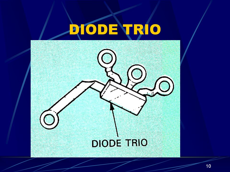 DIODE TRIO