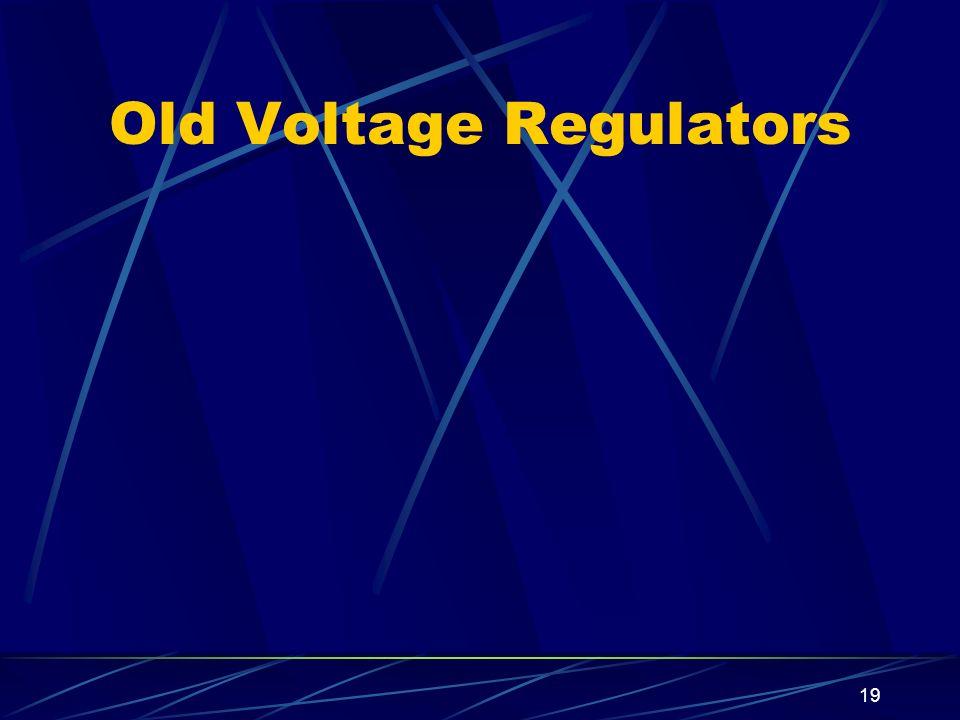 Old Voltage Regulators