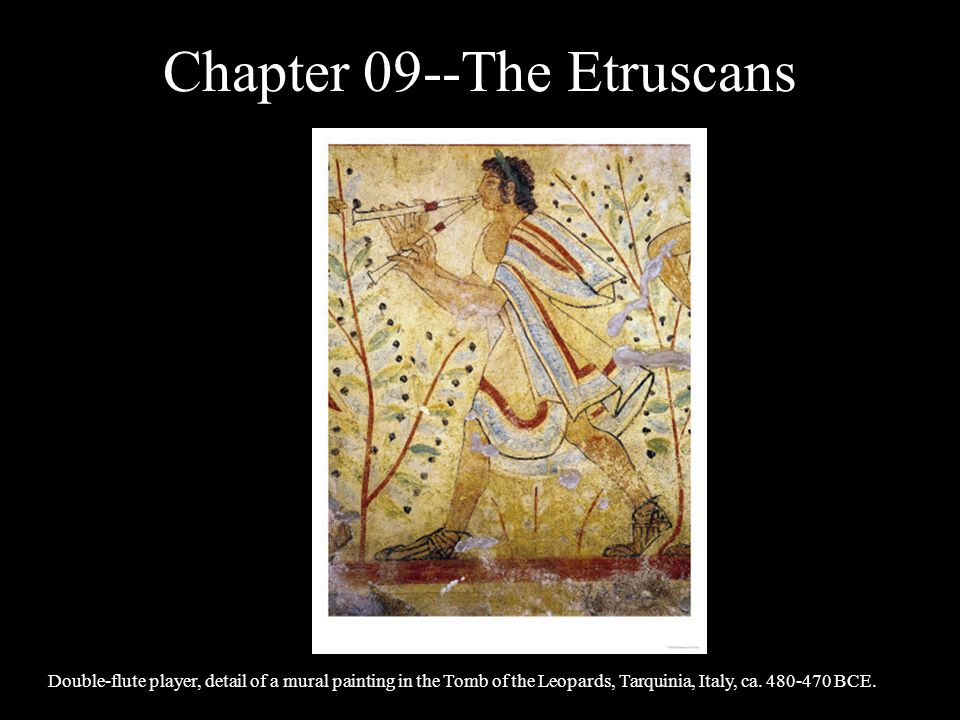 Chapter 09--The Etruscans