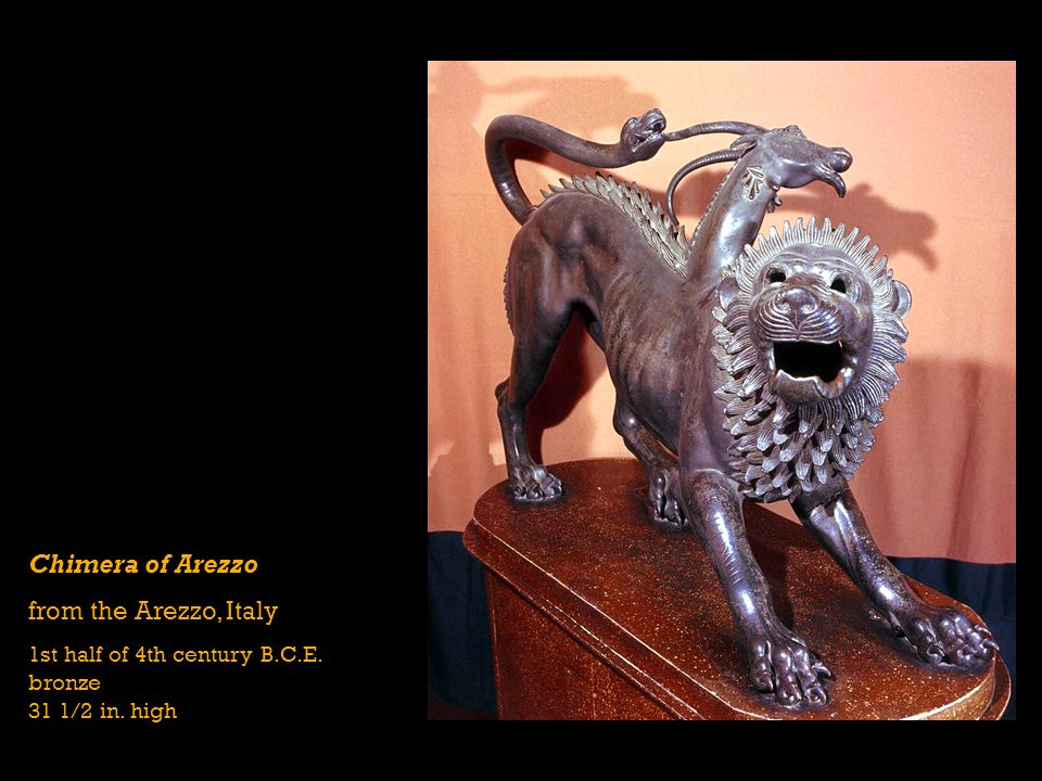 Chimera of Arezzo from the Arezzo, Italy