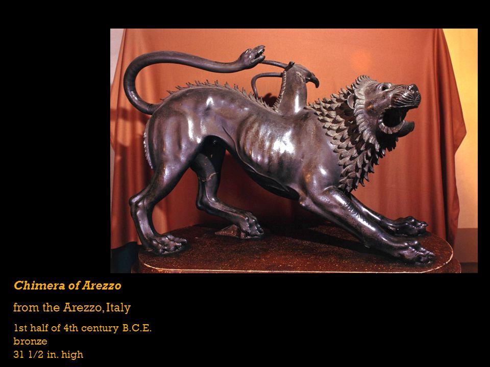 Chimera of Arezzo from the Arezzo, Italy