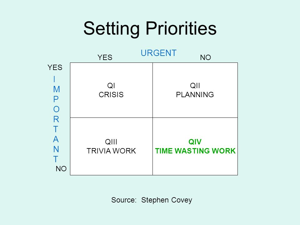 the importance of setting your priorities straight My priorities are way out of order and i don't have enough time to do everything   if these relationships aren't of high priority or importance, it will only be  life  success, setting our priorities right should be our utmost priority.