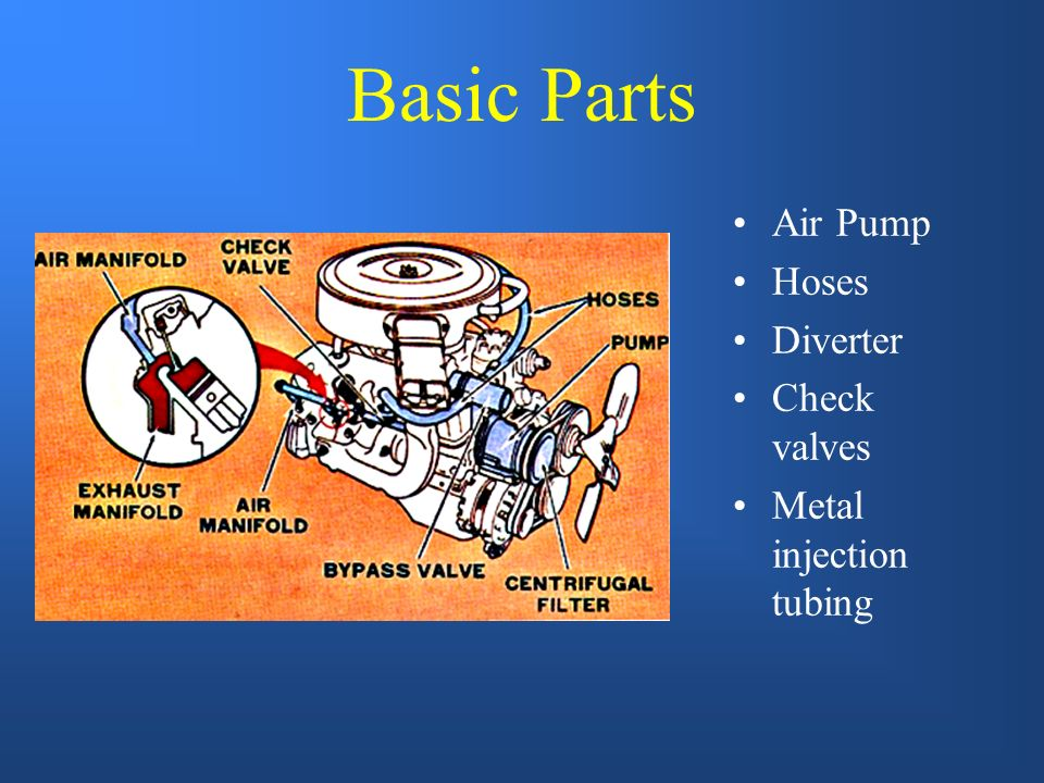 Basic Parts Air Pump Hoses Diverter Check valves