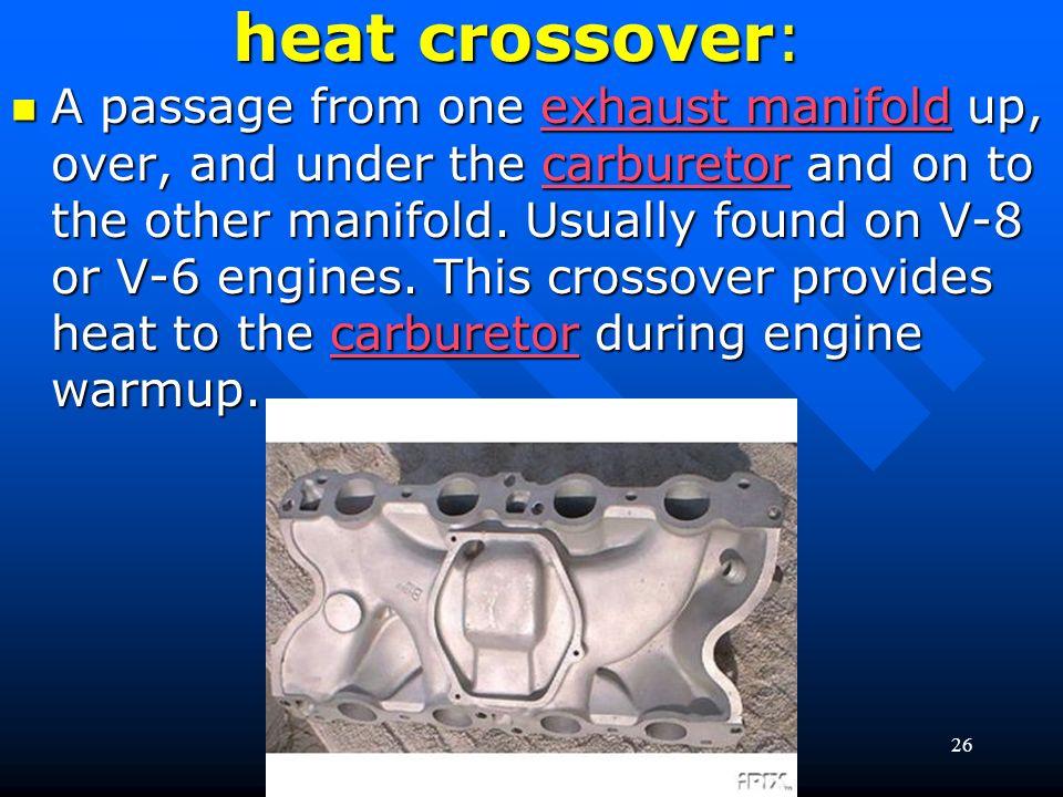 heat crossover: