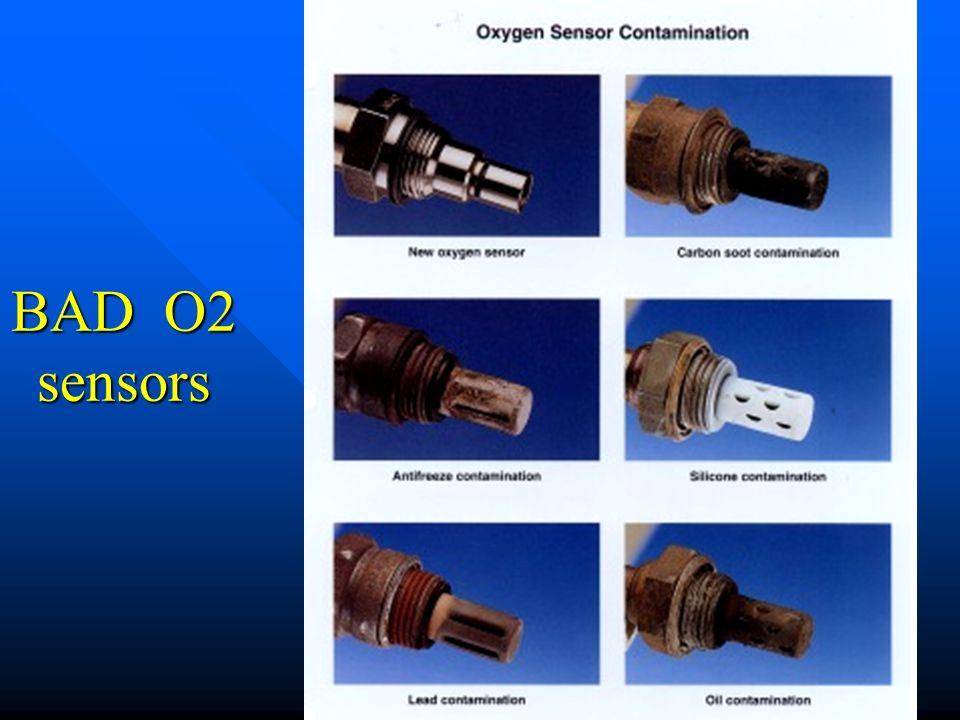 BAD O2 sensors