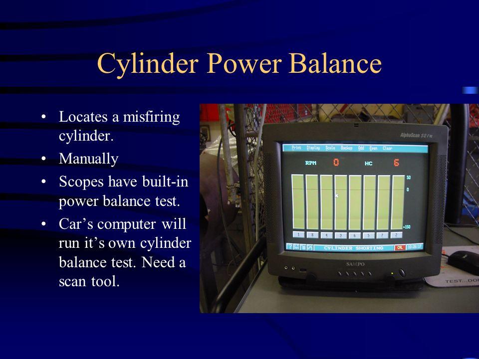 Cylinder Power Balance