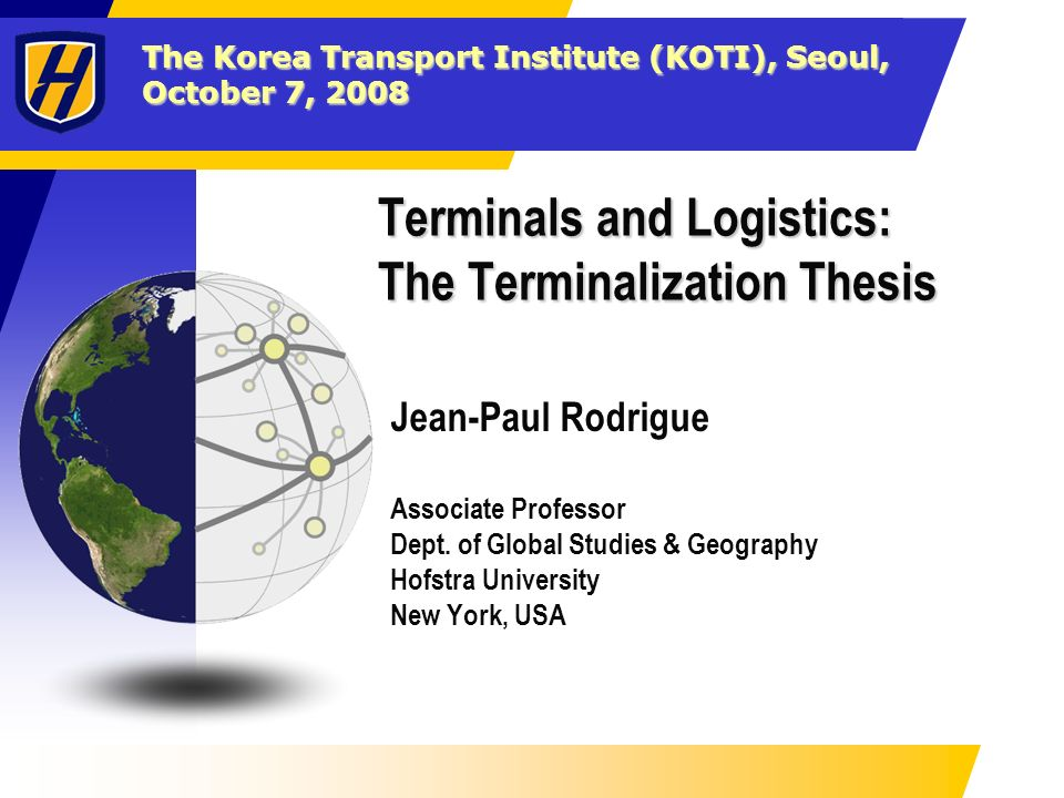 Transportation thesis