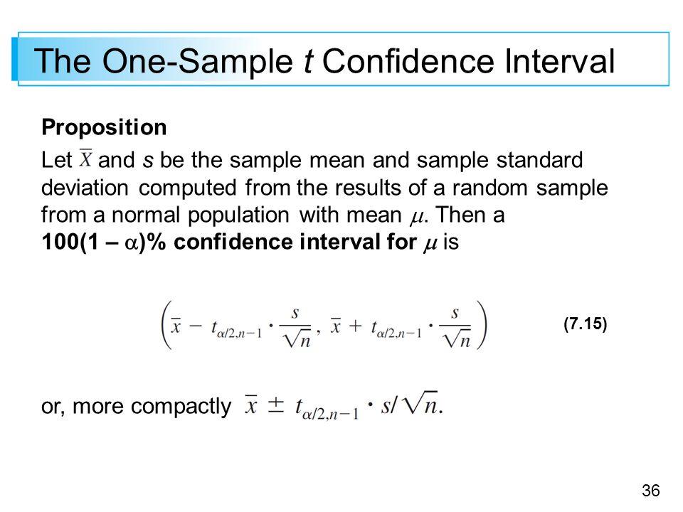Statistical Intervals Based on a Single Sample - ppt download