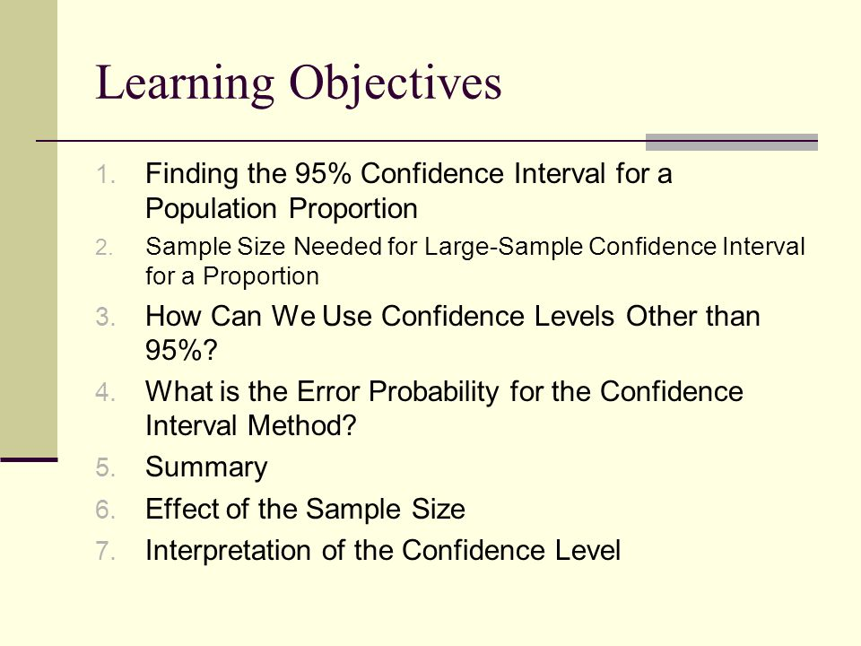 Chapter 8: Statistical Inference: Confidence Intervals - ppt download