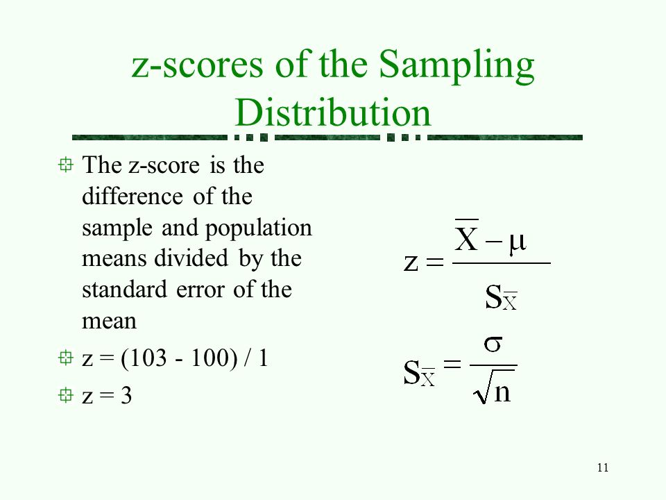 the standard error of the sampling distribution when we know the population standard deviation is eq Thank you so much for clarifying that post bchadwick you really couldn't have explained it better thank you again for taking the time to answer my question so thoroughly.