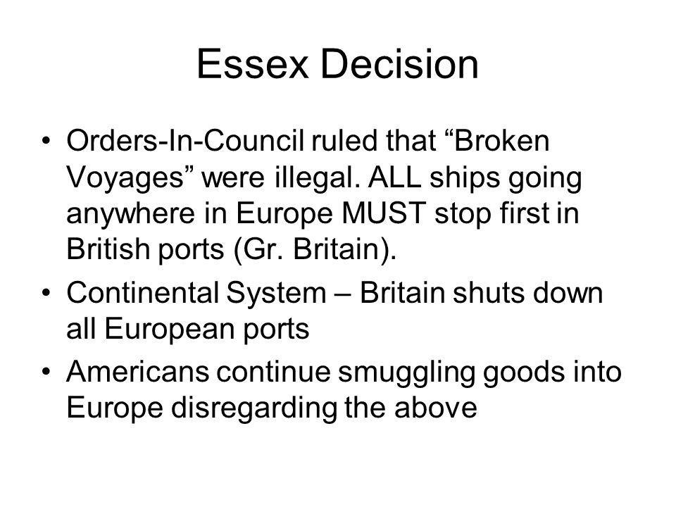 Essex Decision