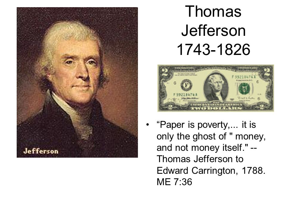 Thomas Jefferson 1743-1826
