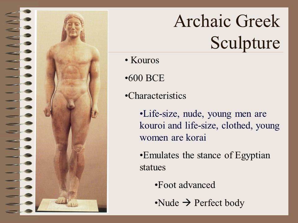 Archaic Greek Sculpture