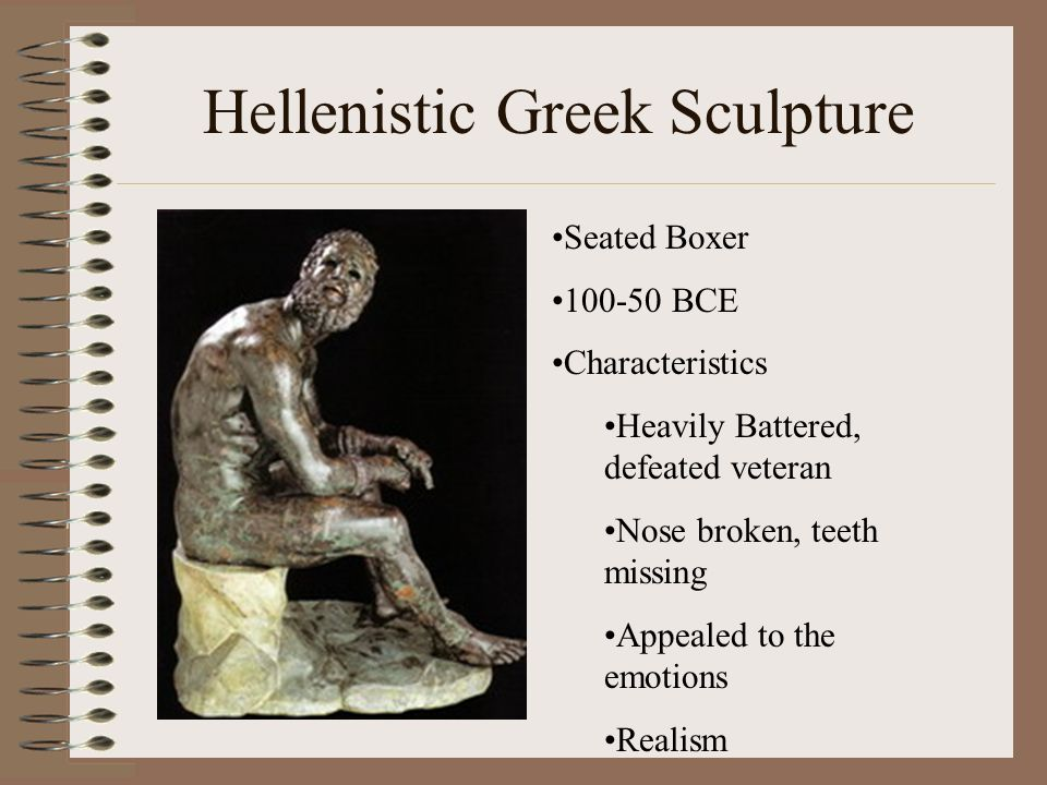 Hellenistic Greek Sculpture