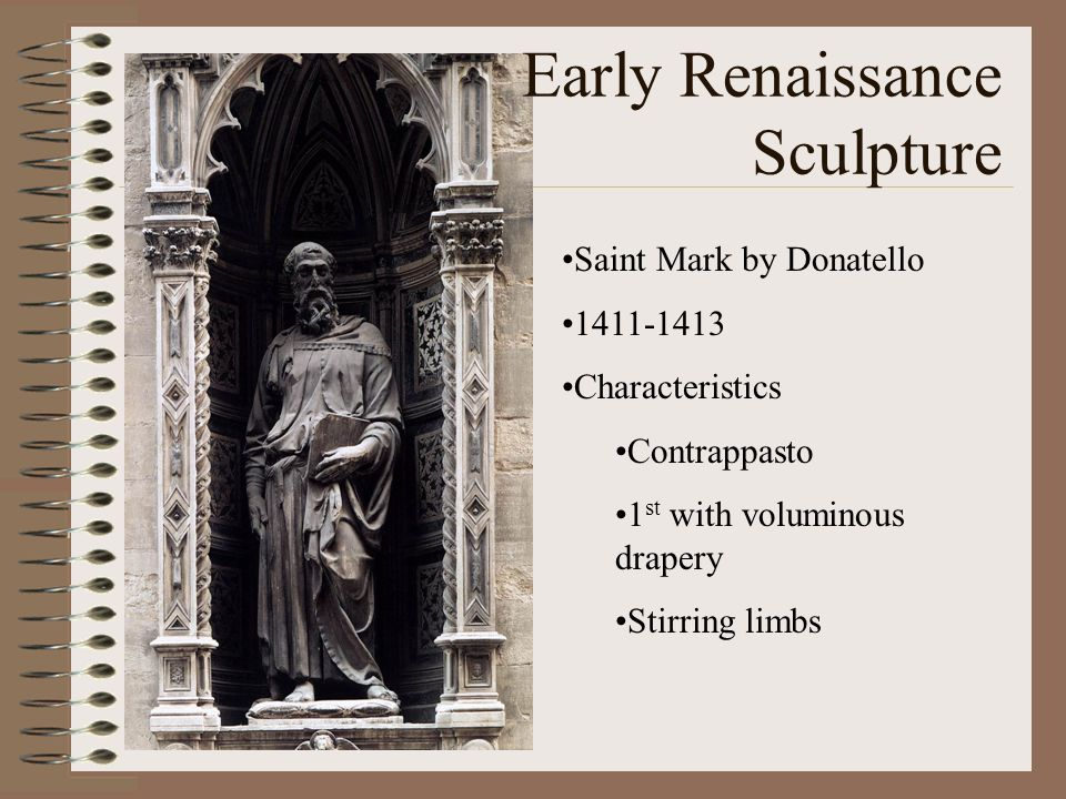 Early Renaissance Sculpture
