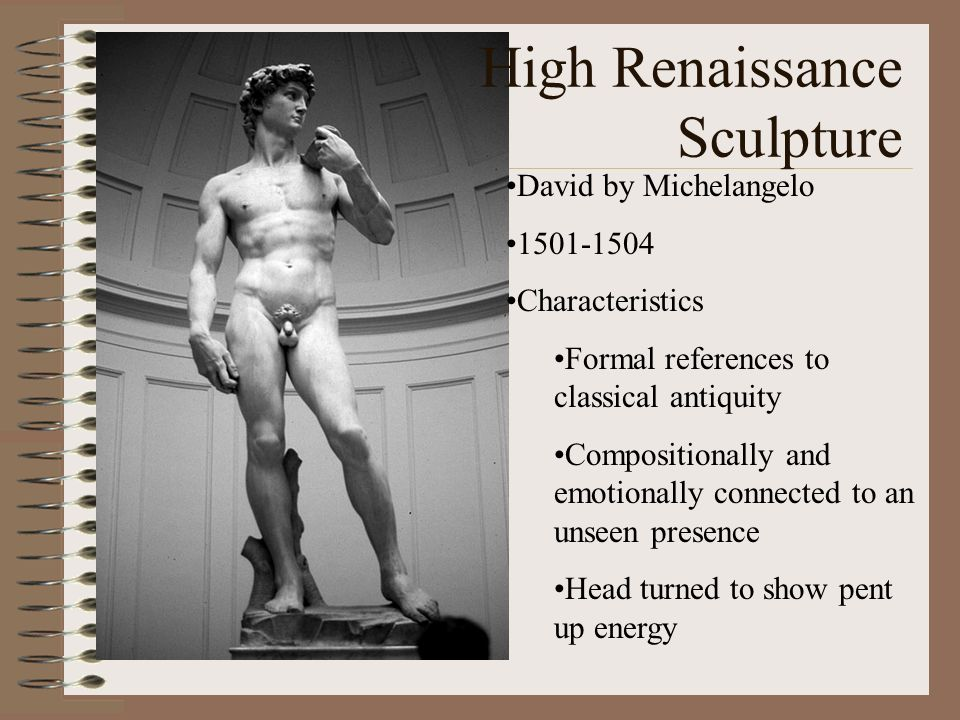 High Renaissance Sculpture