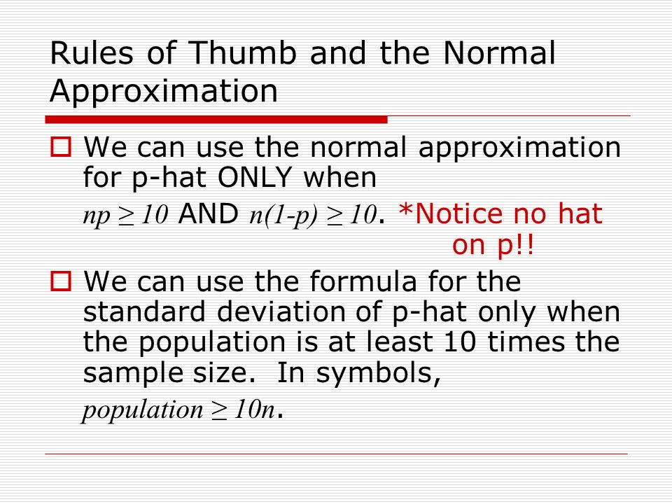 Simulating a sample distribution ppt download 7 rules ccuart Gallery