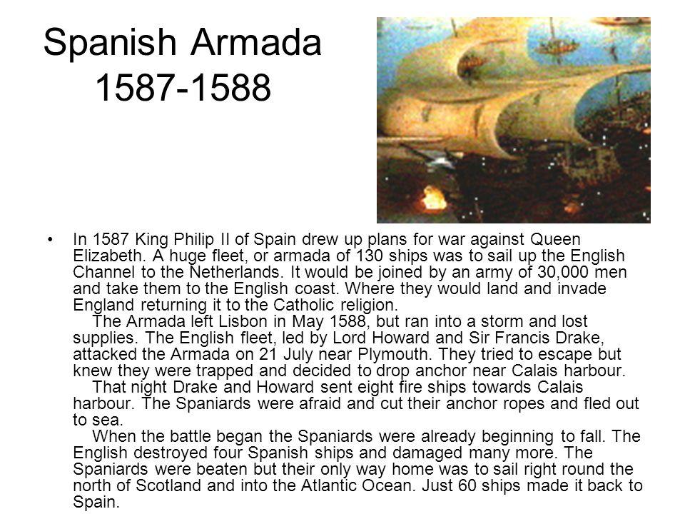 Spanish Armada 1587-1588