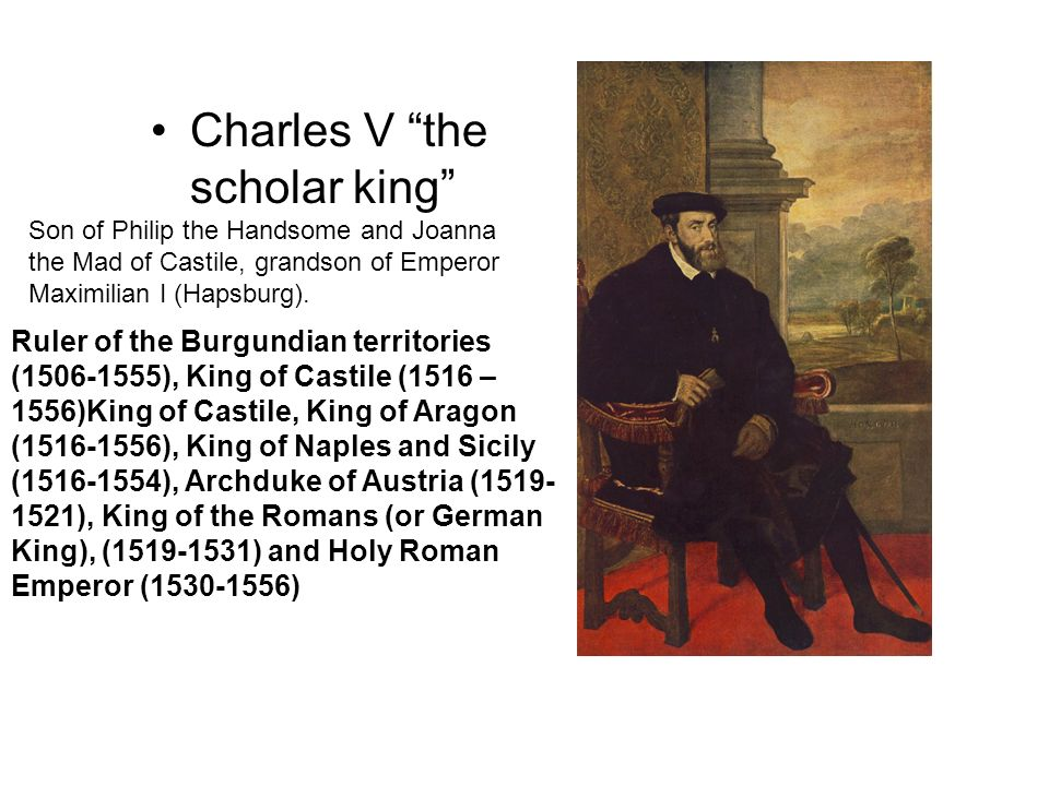 Charles V the scholar king