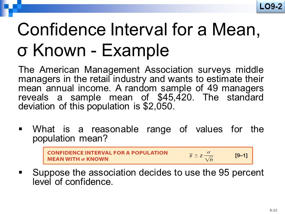 Estimation and Confidence Intervals - ppt video online download