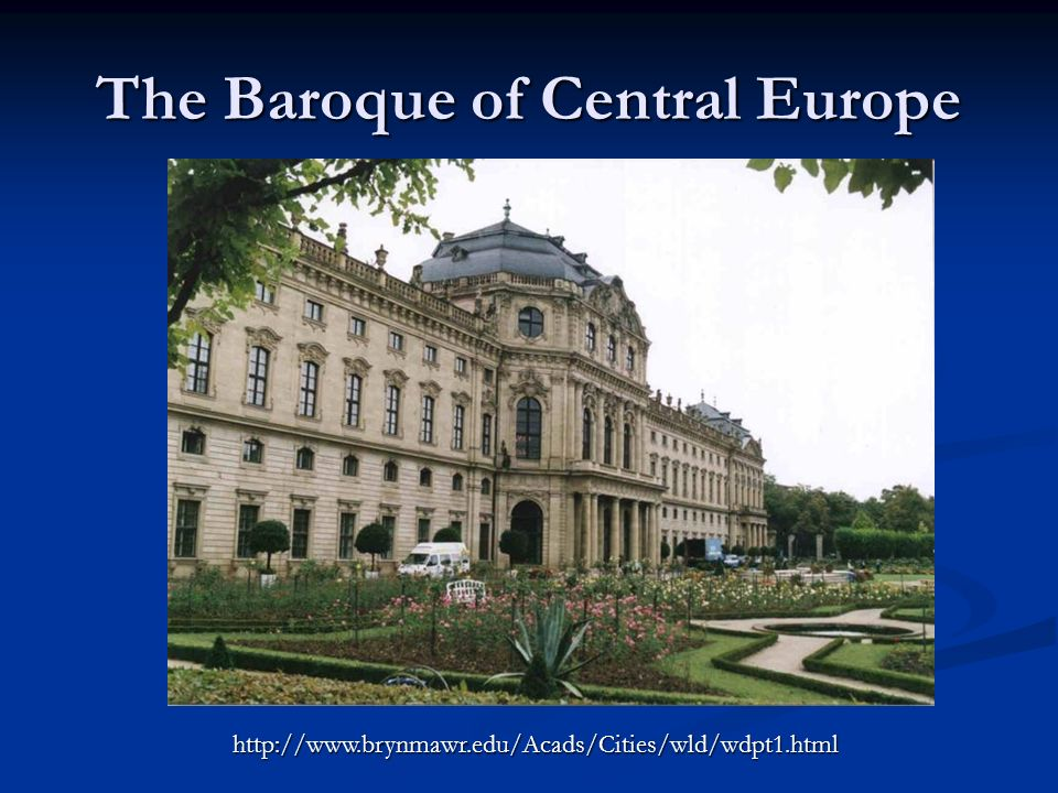 The Baroque of Central Europe