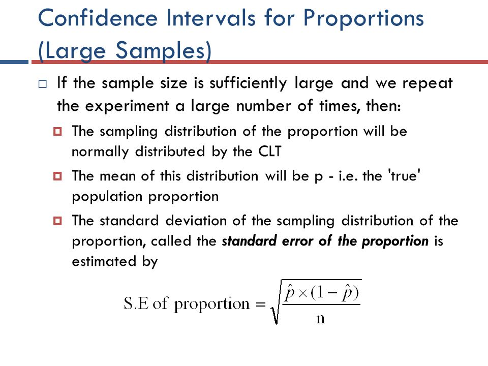 how to find sufficiently large sample sze